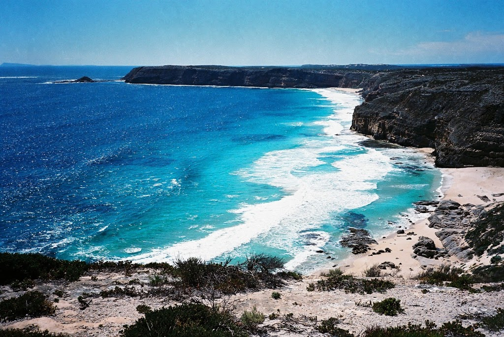 Beach from Lighthouse, South Cape, Innes National Park