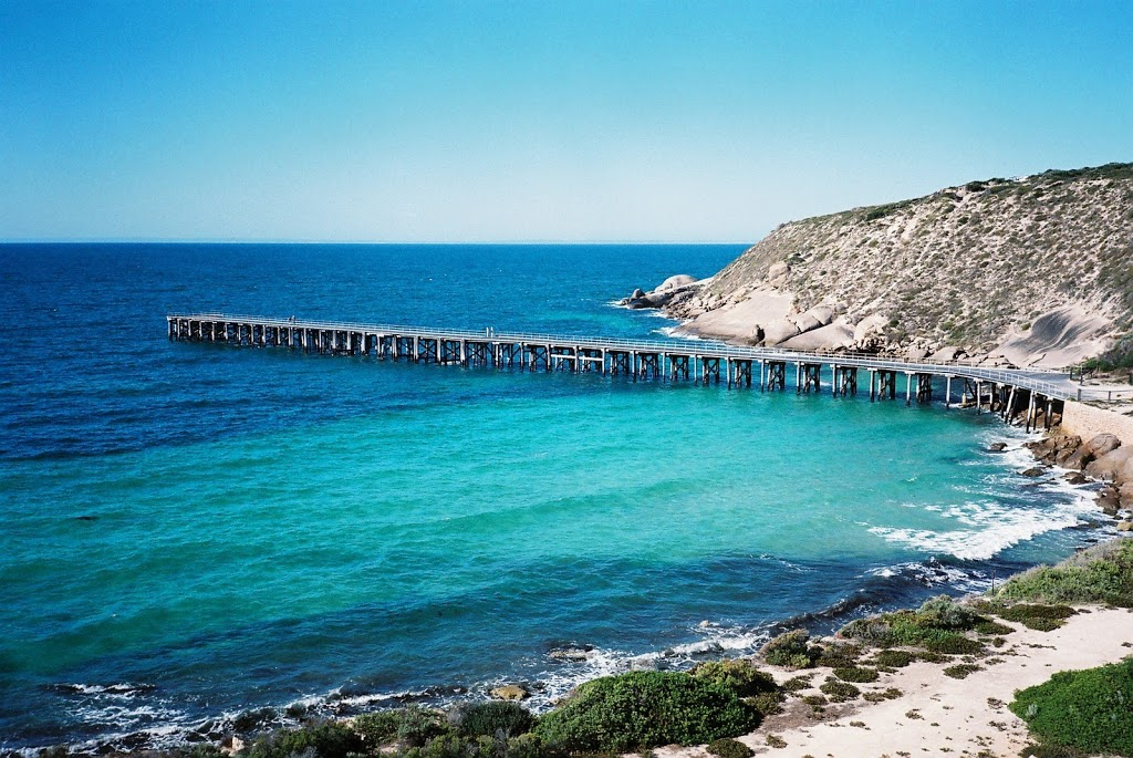 Stenhouse Bay Jetty, Innes National Park, South Australia