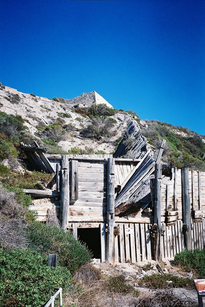 Old Gypsum Mine, Innes National Park, South Australia
