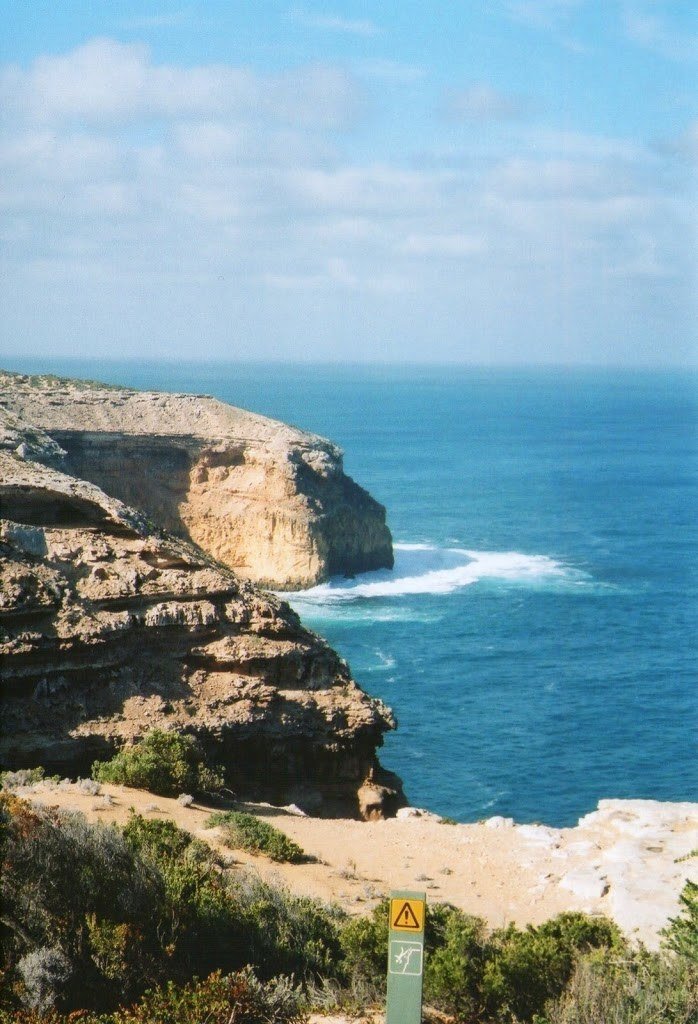 Cliffs at Cape Spencer, Innes National Park