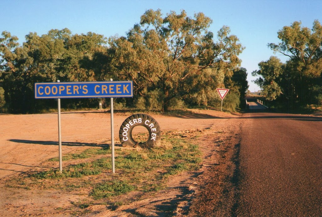Cooper's Creek - that's what the locals call it!