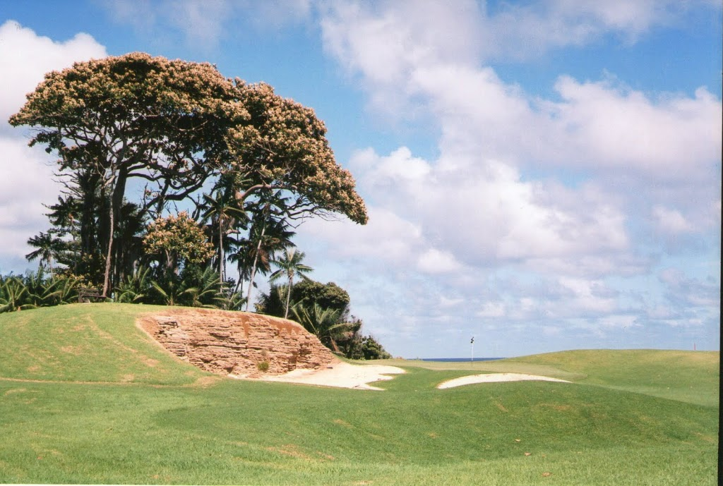 The only Golf Course anywhere on World Heritage Turf