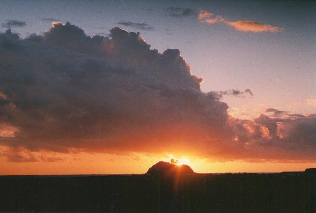 My arty sunset shot!
