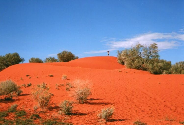Red and Redder, Outback Dune, Windorah, QLD