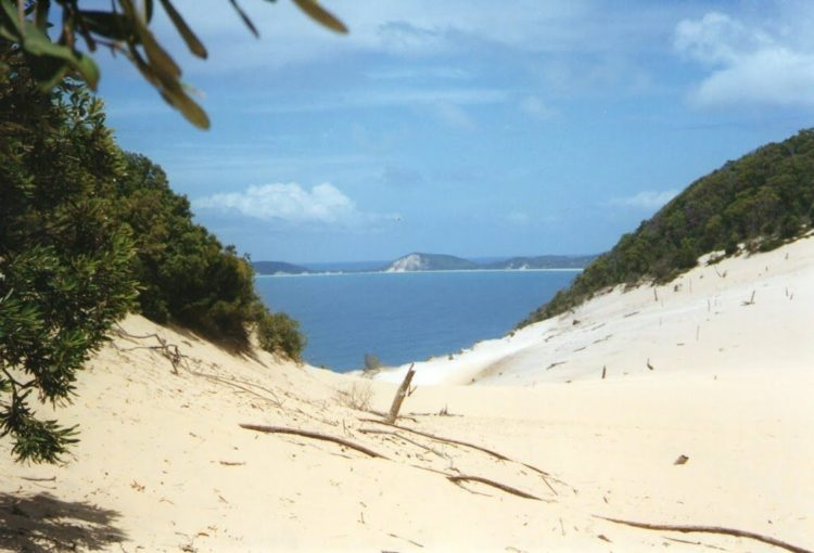 Carlo Sandblow, Rainbow Beach, QLD
