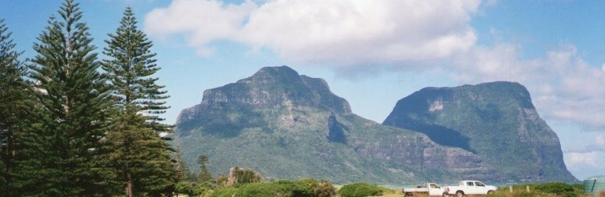 The View from the Loo, Lord Howe Island
