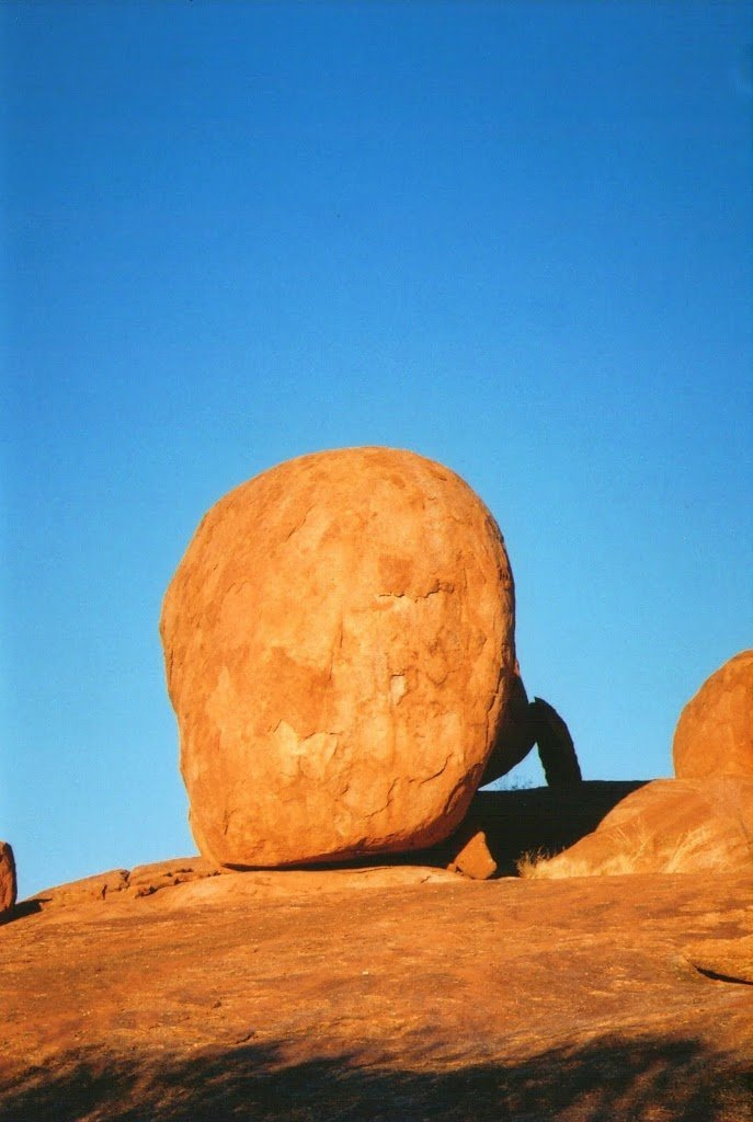 Devils Marbles at Sunrise