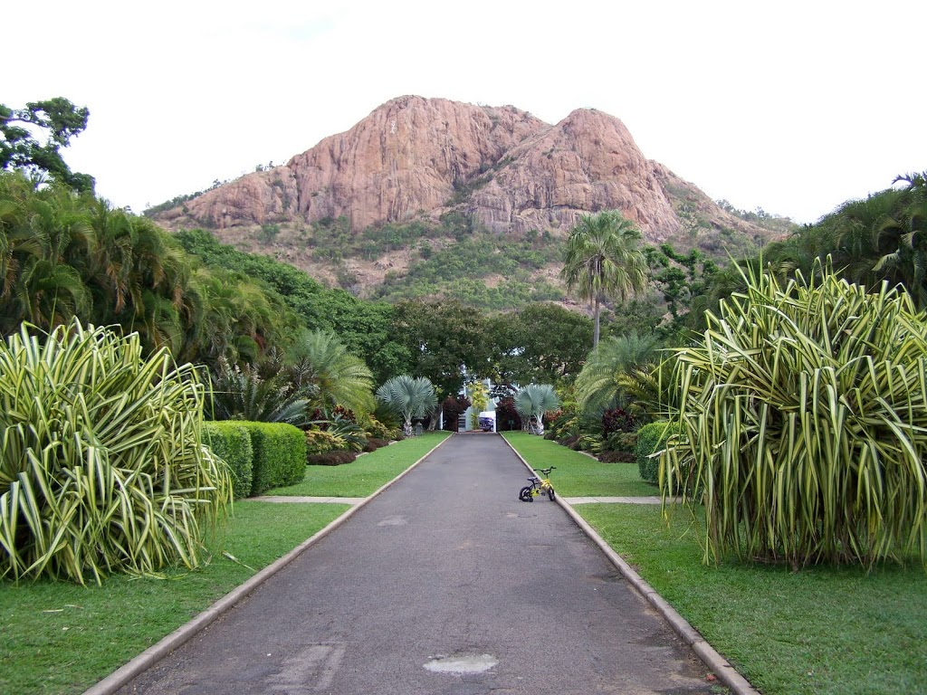 Castle Hill from the Townsville Botanic Gardens