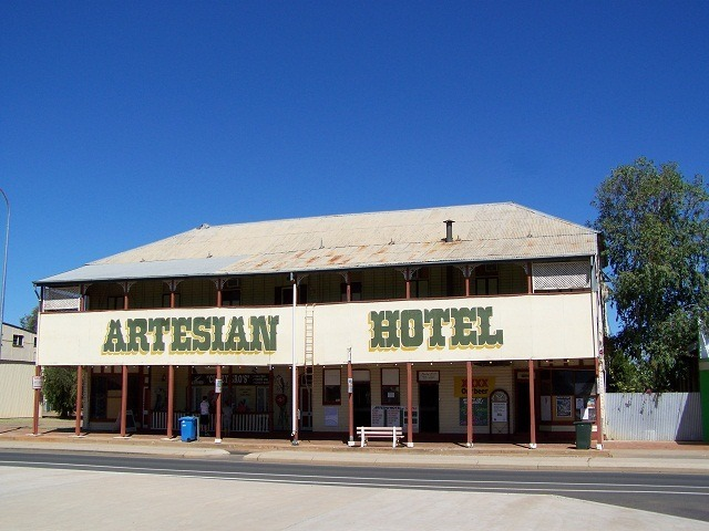 One of Barcaldine's 5 main street pubs!