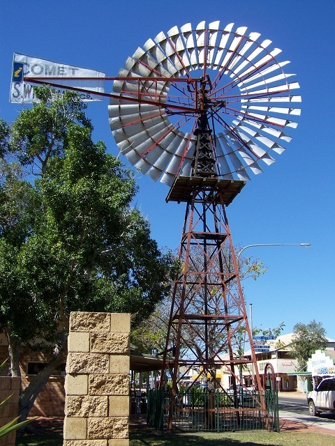 Windmill, Barcaldine, Queensland