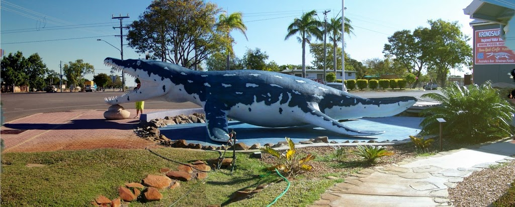 Kronosaurus Queenslandicus replica - Richmond, Queensland