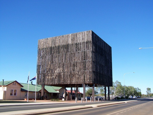 Exterior - Tree of Knowledge, Barcaldine