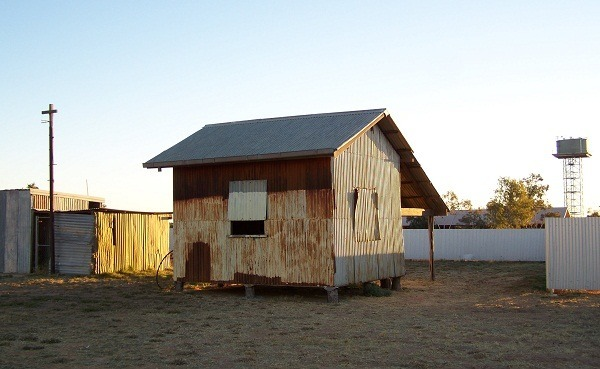 Old Building, Bedourie, Queensland Outback