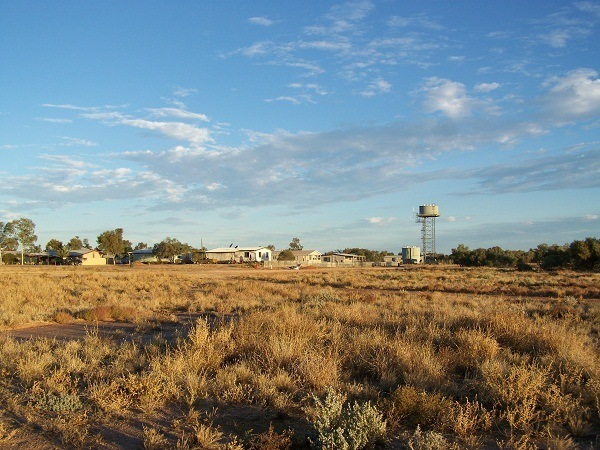 Bedourie Township, Outback Queensland