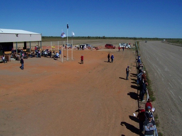 Race Track at 2011 Camel Races, Bedourie, Outback Queensland