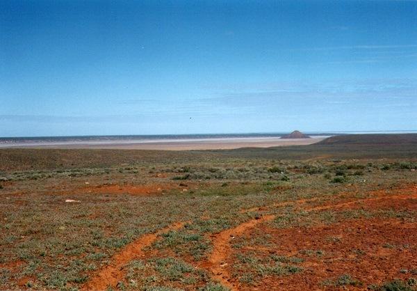 Island Lagoon, South Australian Outback