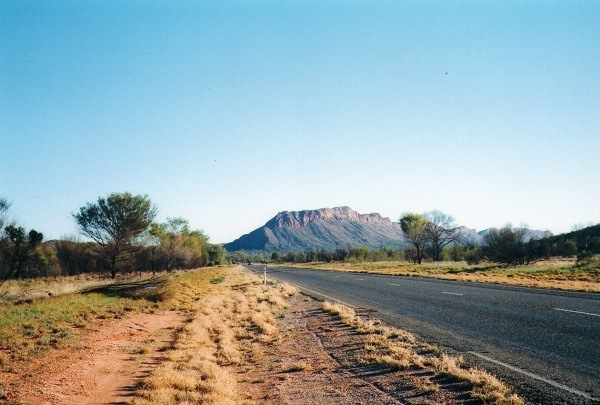 Mt Sonder, via Alice Springs, Central Australia, Northern Territory