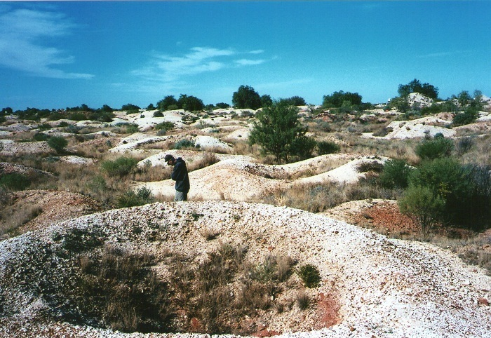 Fossicking Fields, White Cliffs, Outback New South Wales