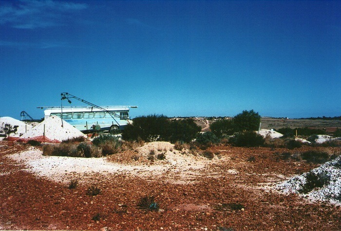 Home on the White Cliffs Opal Fields, Outback New South Wales