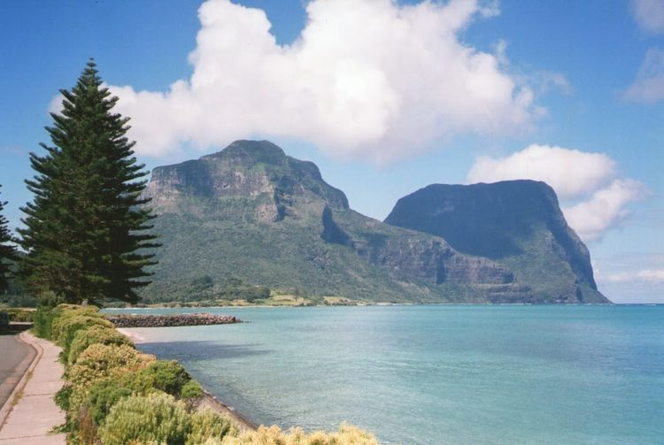 Mounts Gower & Lidgbird, Lord Howe Island