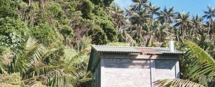 Public Amenities, Ned's Beach, Lord Howe Island