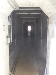 Tunnel under the Dam wall, Lake Guy