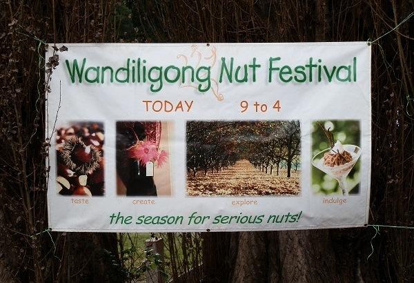 Wandiligong Nut Festival, via Bright, Victoria