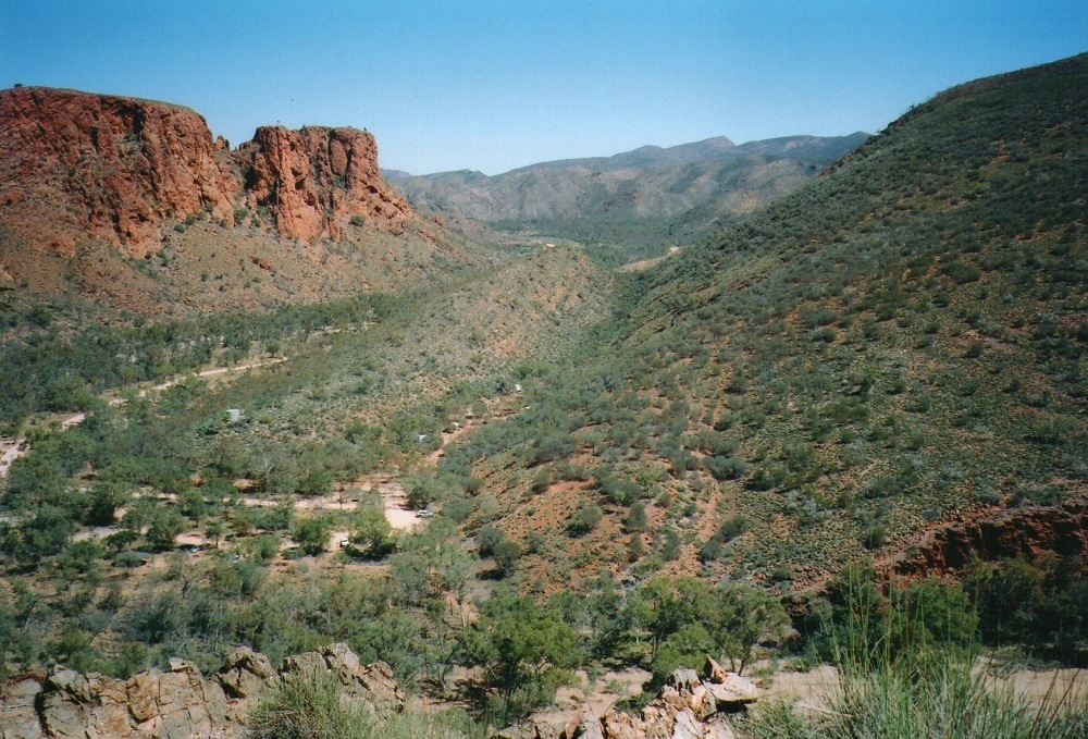Trephina Gorge, Central Australia