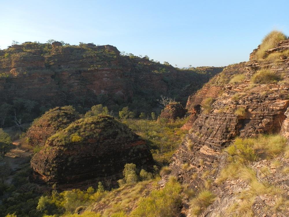 Mirima National Park Rock Formations, Kununurra, Western Australia