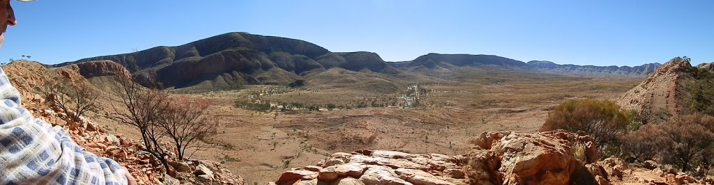 Ormiston Gorge and Pound from the lookout, Central Australia