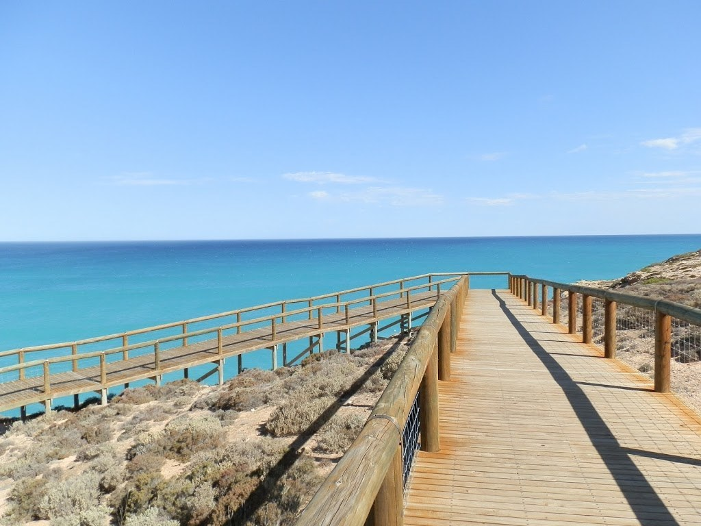 Head of Bight Boardwalk, Nullarbor Plain, South Australia