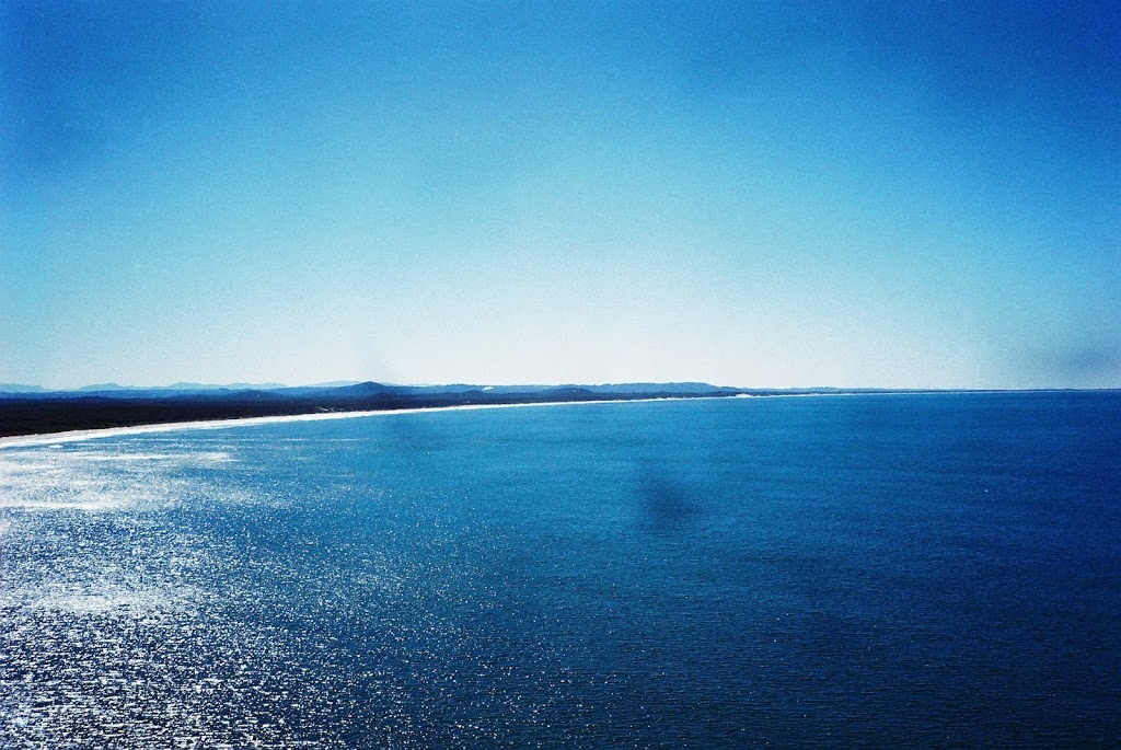 Too BLUE for this old film camera ... Evans Head, NSW