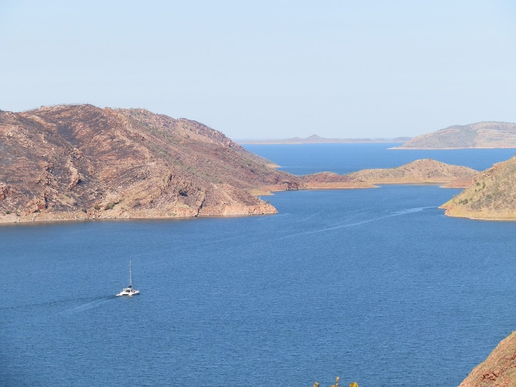 Just a tiny part of Lake Argyle, via Kununurra, Western Australia