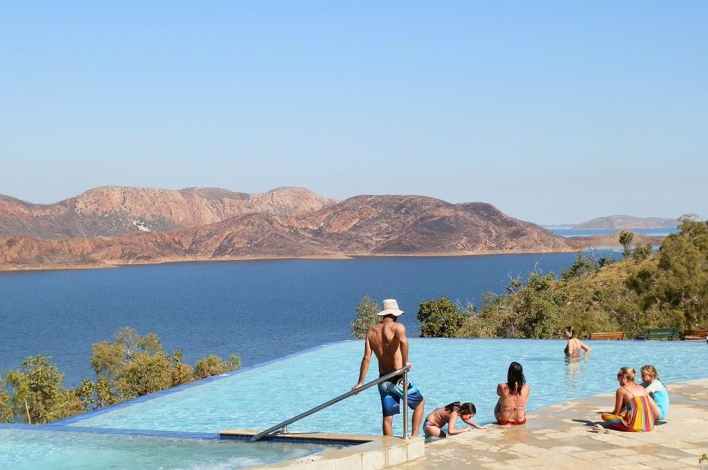 Infinity Pool at Lake Argyle Resort, Western Australia