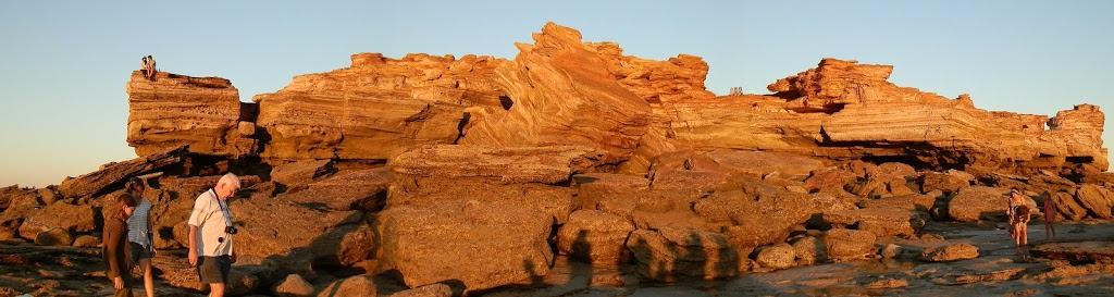 Gantheaume Point from rock platform at low tide, Broome, Western Australia