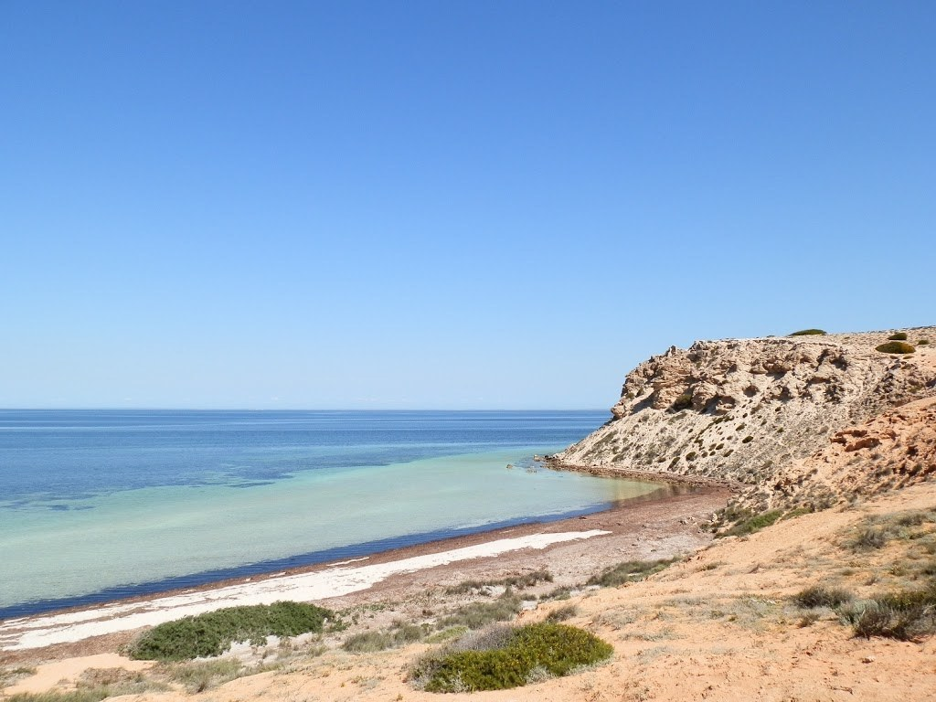 The other side of Eagle Bluff, Shark Bay, Western Australia