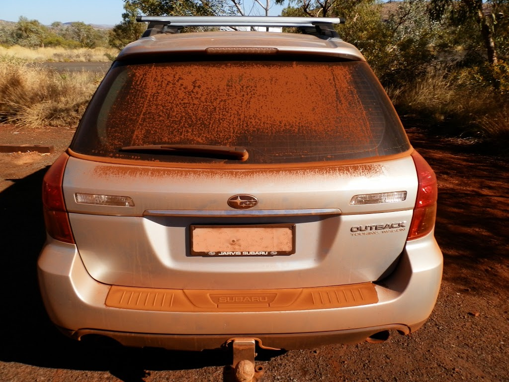 The RED Dust of Karijini National Park!
