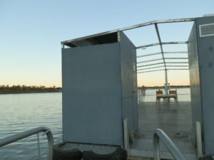 Pontoon Loo, Victoria River Cruise