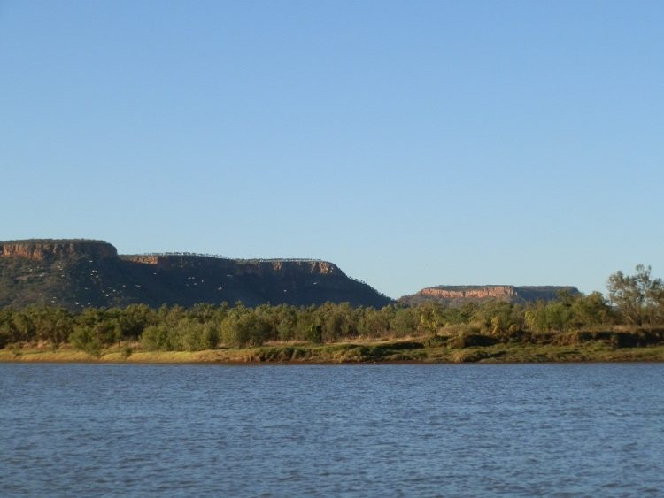 View from Loo, Victoria River via Timber Creek, Northern Territory