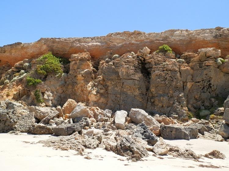 Rocks at Swimmers Beach, Yorke Peninsula, South Australia
