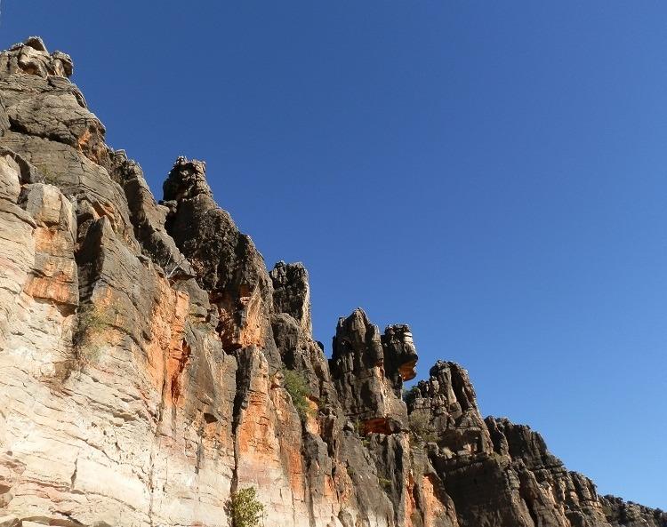 Western Wall, Geikie Gorge, Western Australia