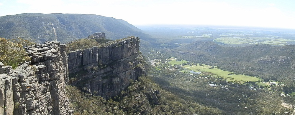 Halls Gap from the Pinnacle, Grampians National Park, Victoria