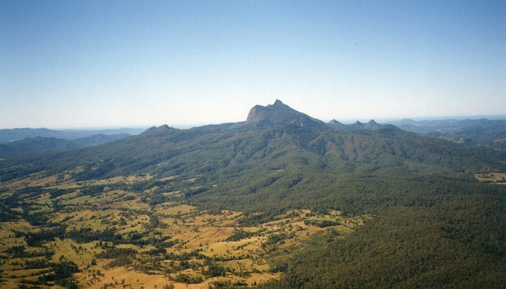 Mt Warning (Wollumbin) from Best of All Lookout