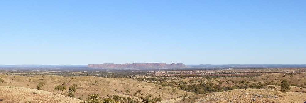 Gosse Bluff from Tylers Pass Lookout, Central Australia