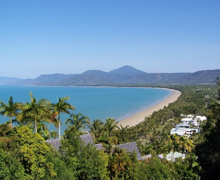 Four Mile Beach from Flagstaff Hill Lookout, Port Douglas, Queensland