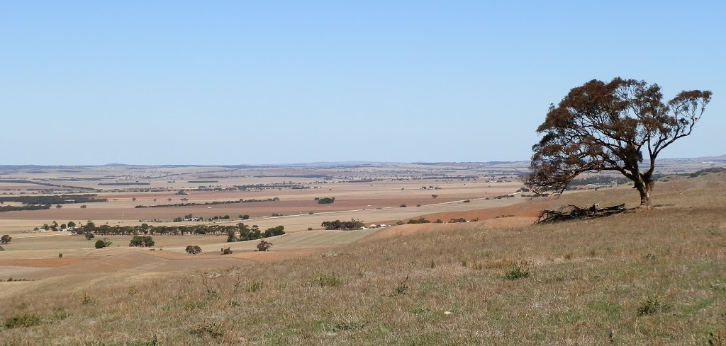 View from Inspiration Point, via Point Pass & Robertstown, South Australia