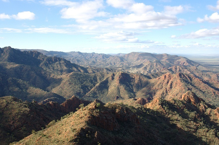 Northern Flinders Ranges from Sillers Lookout, via Arkaroola, South Australia