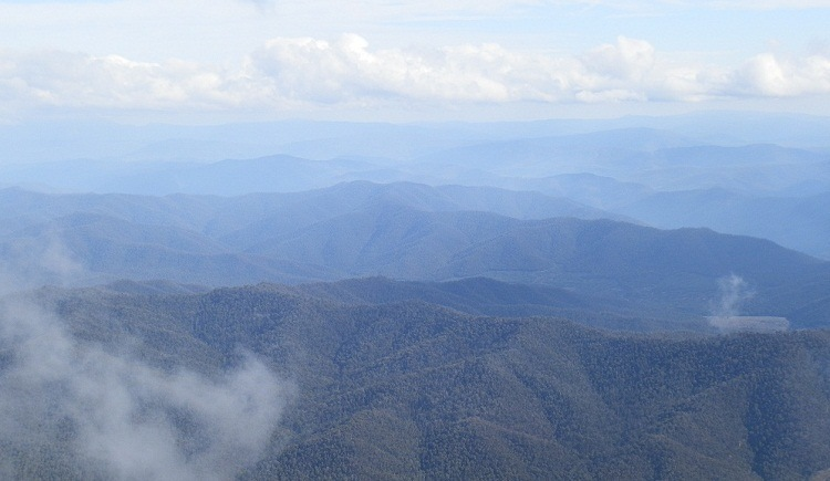 View from the Horn, Mt Buffalo via Bright, Victoria