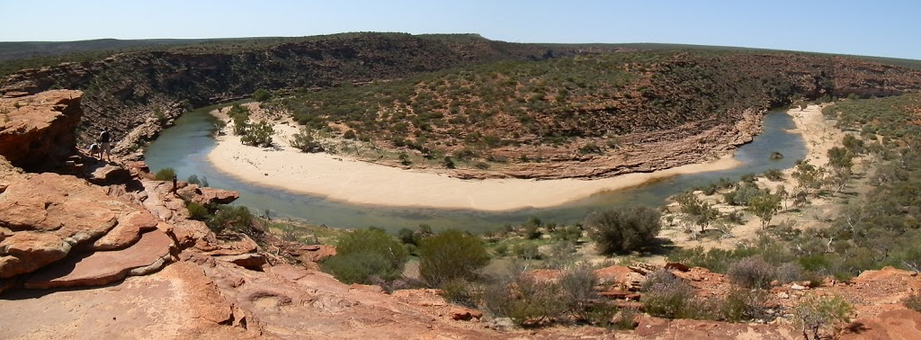 View from Natures Window, Kalbarri National Park, Western Australia