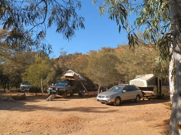 Ormiston Gorge Campground, Central Australia